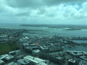 View from the top of the Skytower