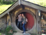 The door to a hobbit house
